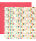 I\u0027d Rather Be Crafting 25 pk Double-Sided Cardstock-Supply List