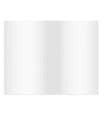 American Crafts We R Memory Keepers 22''x28'' Glitter Poster Board-White