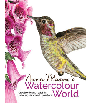 Search Press Books-Anna Mason's Watercolour World