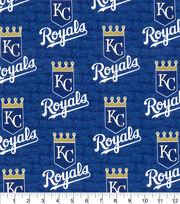 Kansas City Royals Cotton Fabric -Glitter, , hi-res
