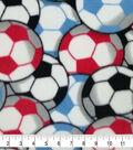 Fleece Fabric -Soccer Balls