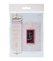 Spellbinders Small Embossing Folder-Floral, , hi-res