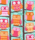 Snuggle Flannel Print Fabric 42\u0022-Tree Owl