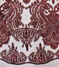 Casa Embellish Fabric 54\u0022-Tawny Port