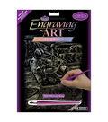 Royal Brush 8\u0022x10\u0022 Holographic Engraving Art Kit-Motorcycle Race