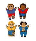 Dexter Special Needs Hand Puppets, Set of 4