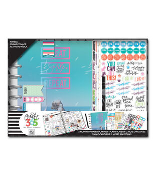 The Happy Planner Classic Planner Box Kit-Fitness