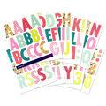 Sticko Futura Regular X-Large Alphabet Stickers-Bright Multi