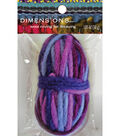Purple Variegated Pencil Roving