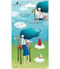 Santoro Kori Kumi II A6 Character Stamps-Beyond The Sea