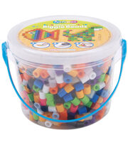 Perler Biggie Bead Bucket 1200/Pkg-8 Colors, , hi-res