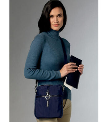 Vogue Pattern V9221 Eyeglasses Case, Passport Wallet, Card Holder & Bag