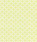 Waverly Surat Stamp Upholstery Fabric 56\u0022-Citrine