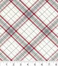 Snuggle Flannel Fabric 42\u0022-Riley Plaid