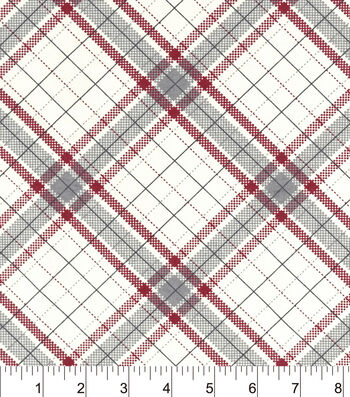 "Snuggle Flannel Fabric 42""-Riley Plaid"