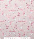 Doodles Juvenile Apparel Fabric 57\u0027\u0027-Ballerina Bear