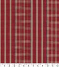 PKL Studio Upholstery Décor Fabric 9\u0022x9\u0022 Swatch-Raja Plaid Spice