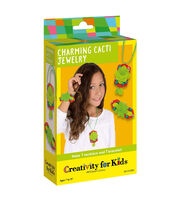 Creativity for Kids Charming Cacti Garden Jewelry, , hi-res