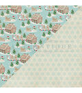 Jingle Double-Sided Cardstock 12\u0022X12\u0022-#4 Gingerbread Houses