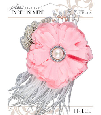 Jolee's Boutique Parisian Blush Embellished Flower