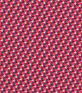 Quilter\u0027s Showcase Cotton Fabric 44\u0027\u0027-Blue & White Mini Triangles on Red