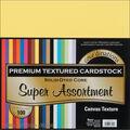 Core\u0027dinations Value Pack Cardstock 12\u0022X12\u0022 100/Pkg-Super Assortment-Textured