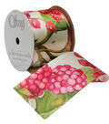Offray 2.25\u0022 Ribbon-Fruit Punch Floral