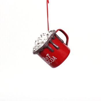Handmade Holiday Christmas Hot Chocolate Ornament
