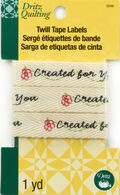 Dritz - Twill Tape Labels - Created For You