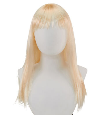 Maker's Halloween Child Long Wig-Blond