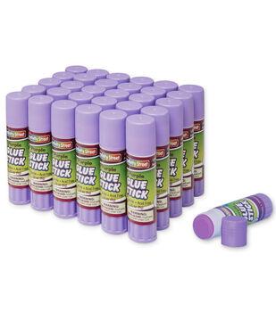 Creativity Street 120 pk 0.28 oz. Glue Sticks-Purple