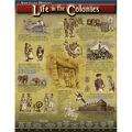 Carson-Dellosa Life in the Colonies Chart 6pk