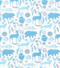 Christmas Cotton Fabric-Forest Friends
