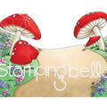 Stamping Bella Rubber Cling Stamp-Gnome Backdrop