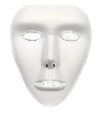 """Paper Full Mask Form 7.5""""X8.25""""-White"""