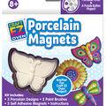 Craft EZ Oven Porcelain Magnets-Garden