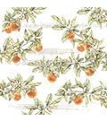 Alexandra Renke Colors Of Autumn Paper 12\u0022X12\u0022-Orange Branches