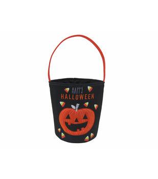Maker's Halloween Trick-or-treat Bag-Jack-o'-lantern Pumpkin