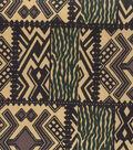 Novelty Cotton Fabric 45\u0022-Tribal Blocks