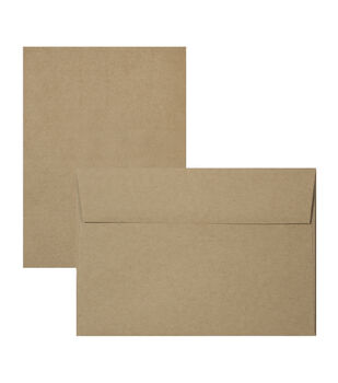 Park Lane 12 pk A7 Cards & Envelopes-Kraft