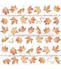 Alexandra Renke Colors Of Autumn Paper 12\u0022X12\u0022-Maple Leaves Rapport