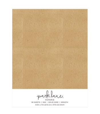 Park Lane 50 pk 8.5''x11'' Value Papers-Kraft