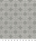 PKL Studio Upholstery Décor Fabric 9\u0022x9\u0022 Swatch-Chain Reaction Sterling
