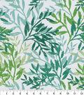PKL Studio Outdoor Fabric 9\u0022x9\u0022 Swatch-Sea Branches Seaweed