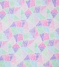 Premium Cotton Fabric-Maeve Geo Lines