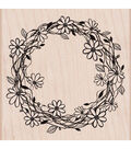 Flower Wreath Stamp
