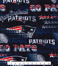 New England Patriots Fleece Fabric -Retro