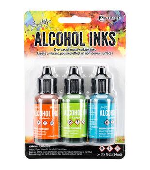 Tim Holtz 3 Pack 0.5fl.oz. Alcohol Ink-Spring Break