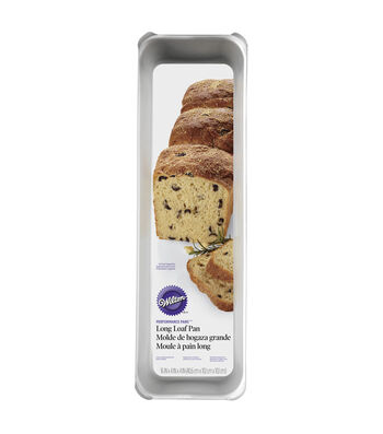 "Wilton Long Loaf Pan-16""X4""X4.5"""
