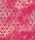 Keepsake Calico Cotton Fabric -Pink Purple Tie Dye Blender